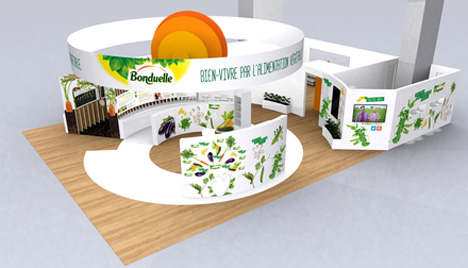Foto Bonduelle Group Stand Messe