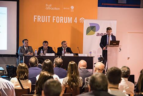 Foto Konferenz Postharvest Unlimited. Foto Fruit Attraction