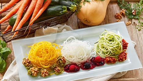 Gemüsespaghetti ERFA