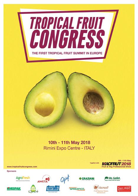 Poster Macfrut 2018 der Tropical Fruit Congress