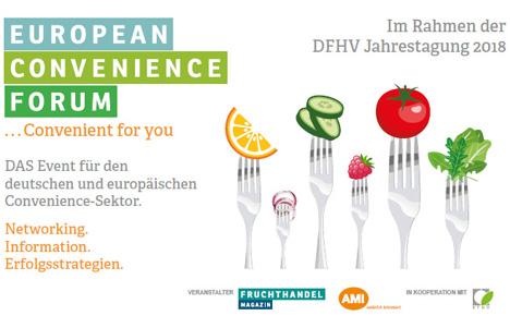 Banner European Convenience Forum am 07./08.06.2018 in Hamburg