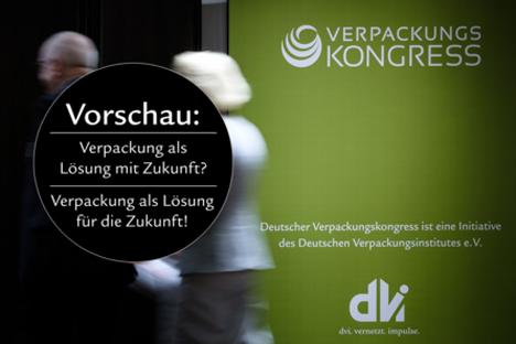 Countdown für den Deutschen Verpackungskongress