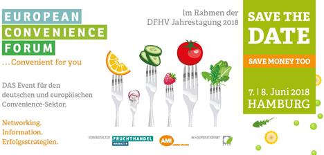 ECF 2018: Dynamischer Fresh Cut Markt, dynamischer Außer-Haus-Verzehr