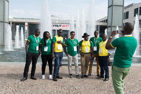 Foto Macfrut International Delegation