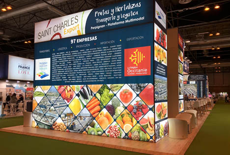 Saint-Charles Export stark auf der 10. Jubiläums-Fruit-Attraction vertreten