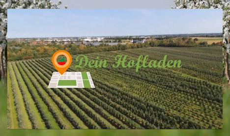 Dein Hofladen screenshot www.deinhofladen.net. Foto © Localizer Digital