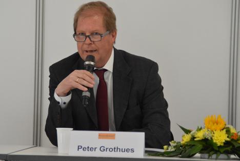 Peter Grothues, Geschäftsführer des DLG-Fachbereichs Ausstellungen. Foto © DLG