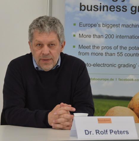 Dr. Rolf Peters, PotatoConsult UG, Visselhövede. Foto PotatoEurope