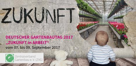 Nur noch wenige Tage bis zum Deutschen Gartenbautag 2017 des Zentralverbandes Gartenbau e. V. (ZVG) in Berlin. Foto: ZVG