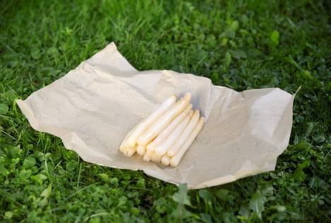 BEE-Paper Wax – das innovative, nachhaltige und plastikfreie Frischhalte-Papier für Spargel