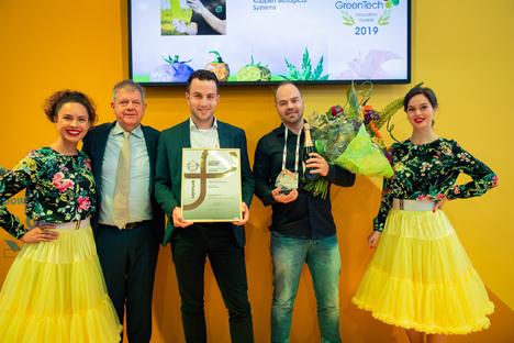 GreenTech Innovation Awards Winner Category Innovation Koppert Biological Systems. Foto © GreenTech 2019
