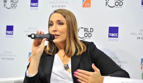 Staatsministerin Anna Kuzmenko. Foto © WorldFood Moscow