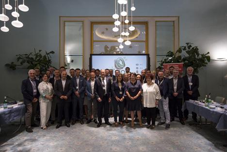Die Delegierten Mitglieder, die an der IKO 2019 in Turin teilnahmen. Foto © CSO