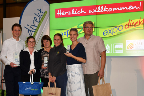 Gewinner des Hofladen des Jahres. Foto © VSSE
