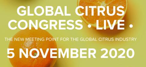 Banner Globaler Zitrus-Kongress Live am 5. November 2020