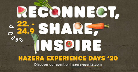 banner Hazera Experience Days Go Digital! Foto © Hazera