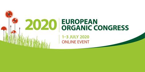 logo Europäischen Bio-Kongress 2020: Bio ist Teil der Lösung