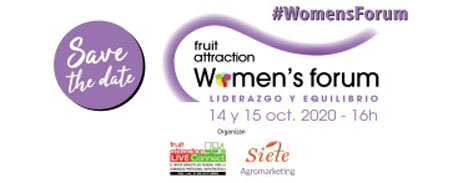 Logo Frauen-Forum auf Fruit Attraction LIVEConnect
