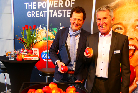 Kanzi von der Fruchtweltmesse bis zum roten Teppich auf der Berlinale