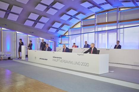 """Carsten Spohr: """"Entscheidung sichert Zukunftsperspektive"""" Foto © Lufthansa AG"""