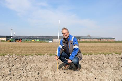 Vorbereitungen für PotatoEurope-Testfelder in Lelystad haben begonnen. Foto © PotatoEurope