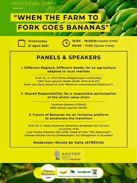 Banner High-Level Event - Banana Day. Bild © Atrevia