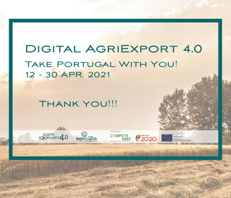 """""""Digital Agriexport 4.0, Take Portugal With You"""" ist zu Ende!"""