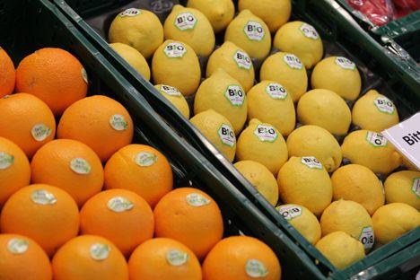 Biofach citrus Bio Lebensmittel, Schwerpunkt deutscher Handel Quelle: NürnbergMesse