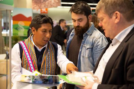 Peru zeigt den Anstieg und das Potenzial seiner Bio-Lebensmittel auf der Biofach in Deutschland