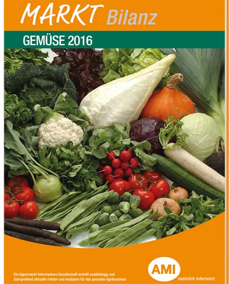 AMI Markt Bilanz Gemüse 2016