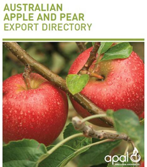 Australisches Apfel- und Birnen-Exportverzeichnis APAL