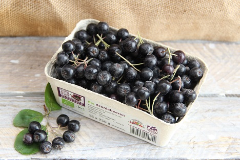 jetzt gibt es frische bio aroniabeeren aus heimischem bio anbau im handel fruchtportal. Black Bedroom Furniture Sets. Home Design Ideas