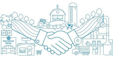 Vertrauen in die Wirtschaft: Lebensmittelbranche rückt auf den zweiten Platz Quelle: Edelman.ergo