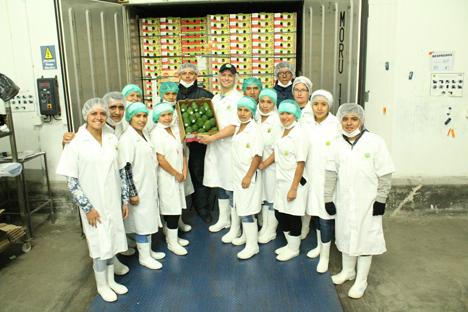 Camposol verlädt ersten Avocadocontainer nach Japan