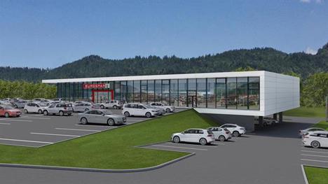 Der neue Eurospar Kaufpark Kufstein wird am 19. August 2016 eröffnet. Foto © SPAR