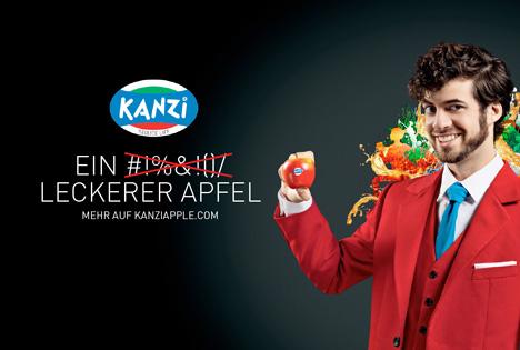 Bildmotiv für die Kanzi®-Kampagne