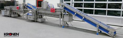 Salatwaschmaschine der Firma KRONEN GmbH