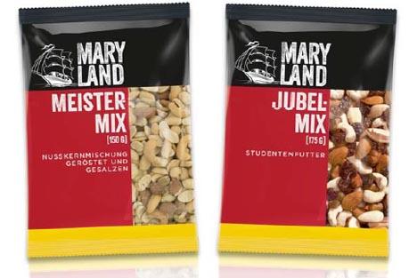 Maryland Nüsse/Trockenfrüchte