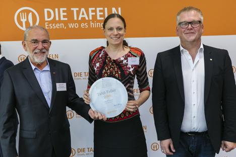 Foto: REWE Group unterstützt Bundesverband der Tafeln mit 10.000 Euro