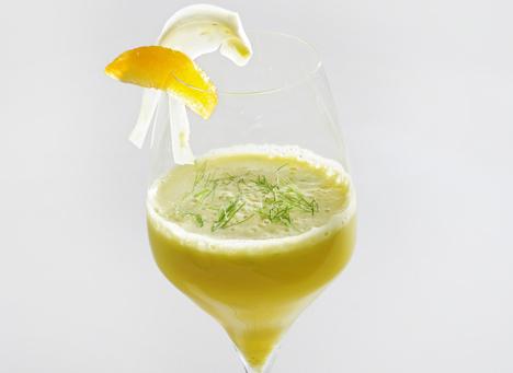 Aromatisch: Apfel-Fenchel-Drink