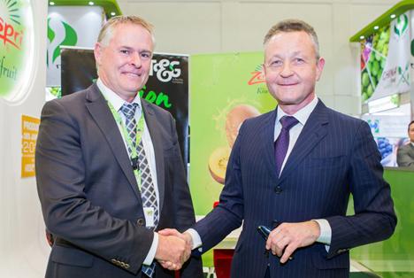 Zespri und T&G arbeiten bei Kiwi-Verkäufen zusammen