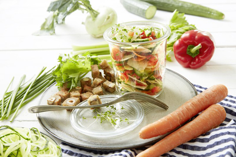 BVEO: Fettarm und gesund - Fünf Ideen für Rohkost