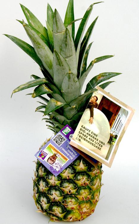 bio ananas wird zum botschafter f r mehr preistransparenz. Black Bedroom Furniture Sets. Home Design Ideas