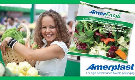 Amerplast und PerfoTec neues AmerFresh-Verpackungssystem