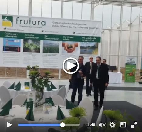 Österreich: Frutura nimmt die erste Ausbaustufe seiner Riesenglashäuser offiziell in Betrieb