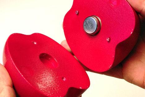 Schweiz: Neuartiger Sensor überwacht Früchtetransport - Ein Apfel in Camouflage