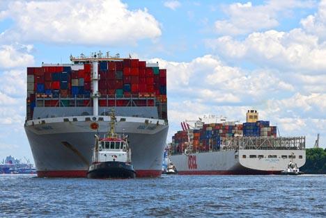 Hafen Hamburg wieder auf Wachstumskurs
