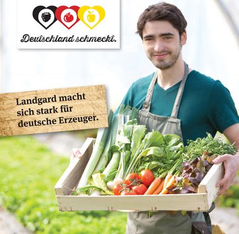 """Landgard unterstützt Kampagne """"Deutschland schmeckt"""""""