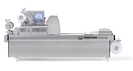 Tiefziehverpackungsmaschine R 105 MF Multivac