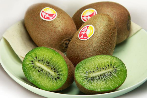 Foto QIFENG KIWI - most known brand in China - via fructidor.com